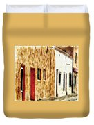 Old Town New Mexico Duvet Cover