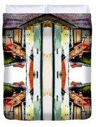 Old Town Stories Art 1 Duvet Cover