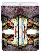 Old Town Stories Art 3 Duvet Cover