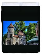 Old Town - Tallin Estonia Duvet Cover