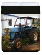 Old Tractor I Duvet Cover