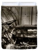 Old Tractor - Series Xv Duvet Cover