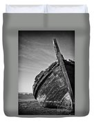 Old Traditional Tagus River Sailboat Duvet Cover