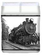 Old Trains Duvet Cover