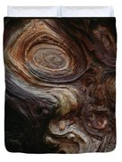 Old Tree Trunk With Knots And Patterns  Duvet Cover