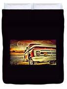 Old Truck Art Duvet Cover