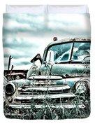 Old Truck - Cool Glaze Duvet Cover