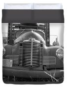 Old Truck Grill Duvet Cover