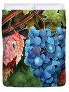 Old Vine Zinfandel Duvet Cover