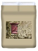 Old Wall And Door Duvet Cover