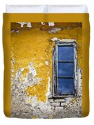 Old Wall In Serbia Duvet Cover by Elena Elisseeva