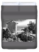 Old Water Tower Duvet Cover