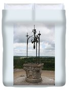 Old Well Chateau Chaumont Duvet Cover