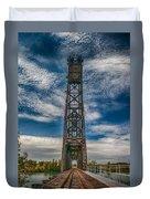 Old Welland Lift Bridge 3d07057hp Duvet Cover