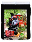 Old West Locomotive 2 Duvet Cover