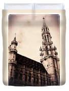 Old World Grand Place Duvet Cover