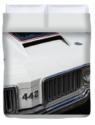 Olds Cutlass 4-4-2 Duvet Cover