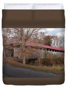 Oldtown Covered Bridge Duvet Cover