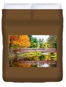 Ole Bull State Park Paint Duvet Cover