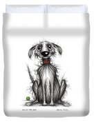 Ollie The Dog Duvet Cover