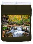 Olmstead Falls Ohio Duvet Cover