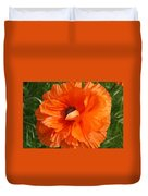 Olympia Orange Poppy Duvet Cover