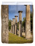 Olympia Ruins Duvet Cover