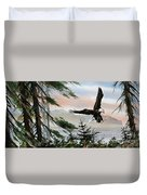Olympic Coast Eagle Duvet Cover