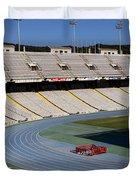 Olympic Stadium Barcelona Duvet Cover