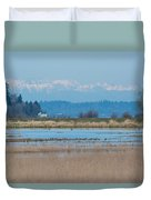 Olympic View Duvet Cover