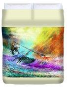 Olympics Canoe Slalom 03 Duvet Cover