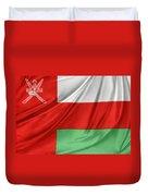 Oman Flag Duvet Cover