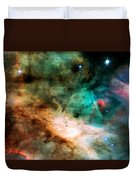 Omega Swan Nebula 2 Duvet Cover