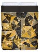 Omg Modern Triangles II Duvet Cover