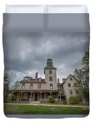 Ominous Clouds At Batsto Village Duvet Cover