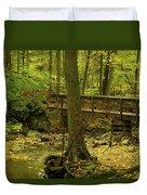 On An Autumn Walk Duvet Cover