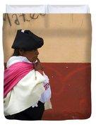 On An Errand In Otavalo Duvet Cover