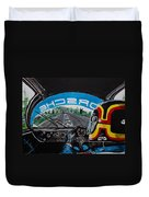 On Board Stefan Belloff Nurburgring Record Duvet Cover
