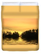 On Golden Pond Duvet Cover