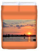 On Lake Maurepas Duvet Cover