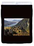 On Mount Roberts Duvet Cover