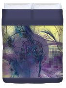 On Psychic Energy Duvet Cover