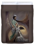 On Sacred Ground Series I Duvet Cover