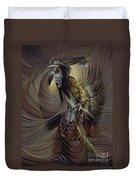 On Sacred Ground Series IIl Duvet Cover
