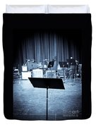 On Stage Duvet Cover