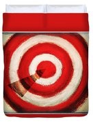 On Target Duvet Cover by Don Hammond