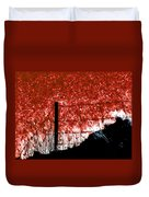 On The Abyss Duvet Cover