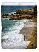 On The Beach - Dubrovnic Duvet Cover