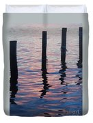 On The Dock Of The Bay Duvet Cover
