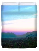 On The Edge Of A Storm Duvet Cover